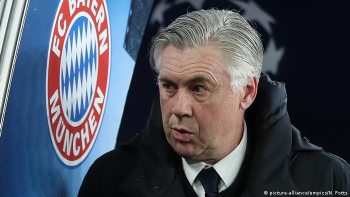 FC Bayern München, Ex-Trainer Carlo Ancelotti (picture-alliance/empics/N. Potts)