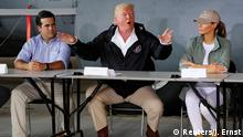 USA Präsident Donald Trump in Puerto Rico