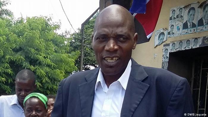 Sofrimento Matequenha, antigo deputado e delegado provincial da RENAMO na província de Manica