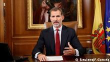 König Felipe von Spanien Rede TV