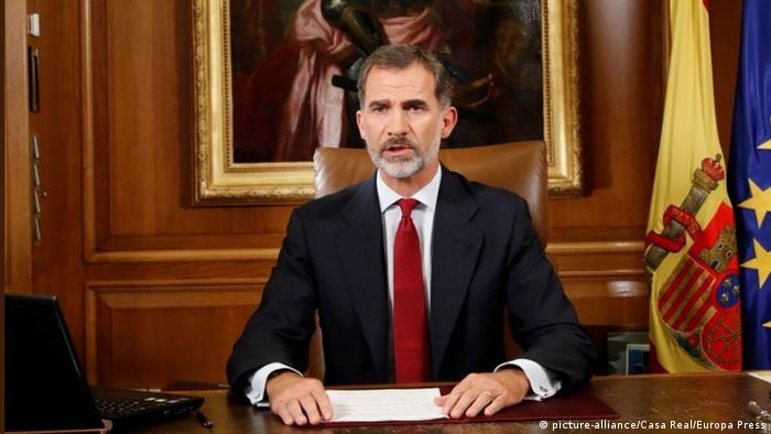 König Felipe hält Rede an die Nation (picture-alliance/Casa Real/Europa Press)