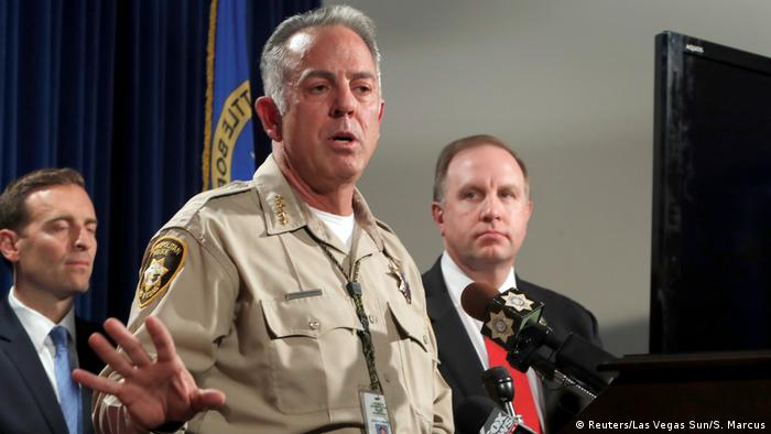 USA Clark County Sheriff Joe Lombardo in Las Vegas