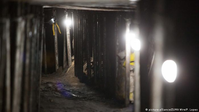Inside the Brazilian bank heist tunnel (picture-alliance/ZUMA Wire/P. Lopes)