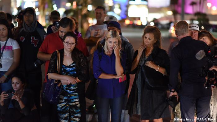 USA Las Vegas Trauer nach Massenschießerei (Getty Images/AFP/R. Beck)