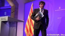 Spanien Barcelona Carles Puigdemont