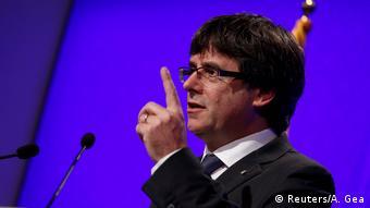Глава каталонской региональной администрации Карлес Пучдемон