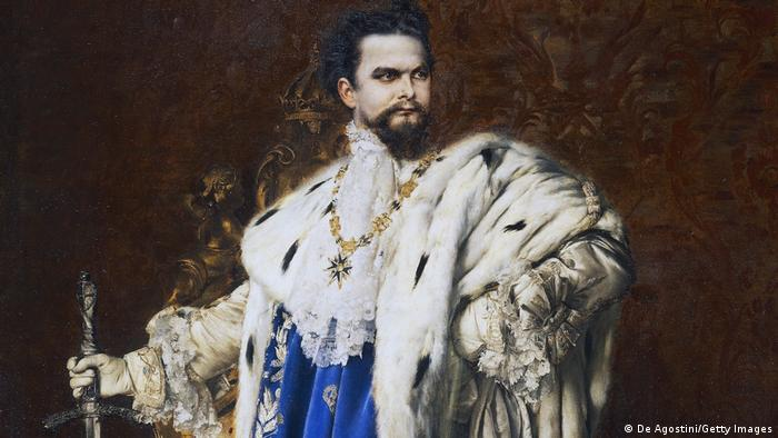 Портрет Людвига II