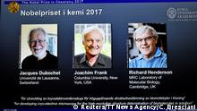 Schweden Stockholm Bekanntgabe Nobelpreis Chemie