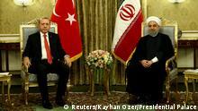 Iran Präsident Hassan Rohani & Tayyip Erdogan, Präsident Türkei
