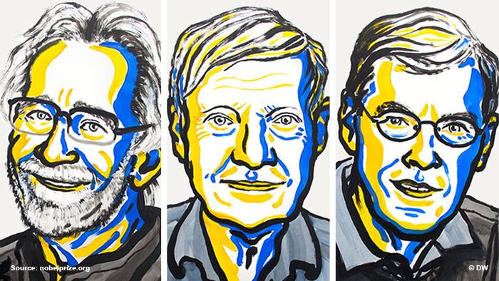 Fotomontage Nobelpreisträger Chemie 2017 ENG