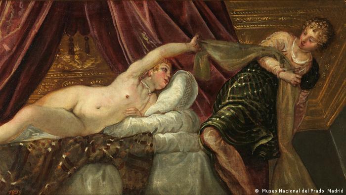 Иосиф и жена Потифара (1555)