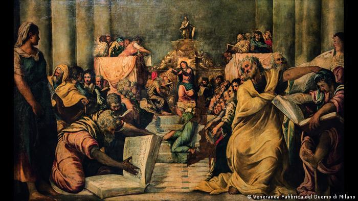 Христос среди книжников (ок. 1542)