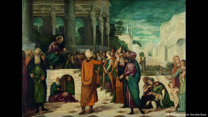 Христос и блудница (1555)