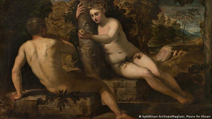 Грехопадение Адама и Евы (ок. 1550-1551)