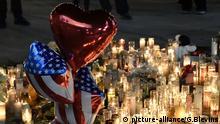 Las Vegas trauert nach dem größten Massenschießen in der U.S. Geschichte