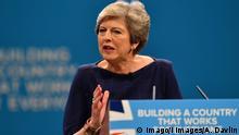 Großbritannien Manchester Parteitag Konservative Theresa May