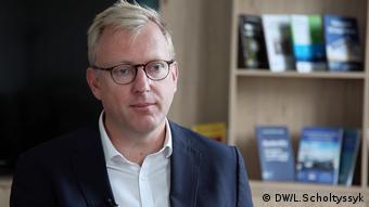 Prof. Steven Blockmans Brüssel Belgien (DW/L.Scholtyssyk)