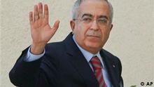 Salam Fayyad Ministerpräsident Palästina