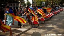 Spanien Katalonien Unabhängigkeitsreferendum
