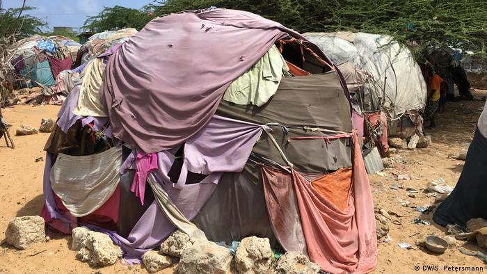 Izbjeglički šatori u Somaliji