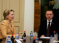 Με τον πρωθυπουργό Τ. Ερντογάν