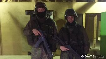 Finnish Guard Jaegers Lauri Leikkila and Valter Lehtonen