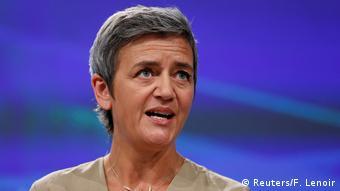 Belgien Margrethe Vestager (Reuters/F. Lenoir)