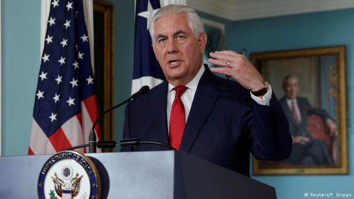 USA Tillerson dementiert Rücktrittsgedanken
