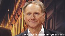 FILE - In this Oct. 10, 2016 file photo, author Dan Brown arrives for the premiere of the movie Inferno in Berlin. Brown's latest book, Origin, released Tuesday, Oct. 3, is already a chart-topper on Amazon.com.. (AP Photo/Markus Schreiber, File) |