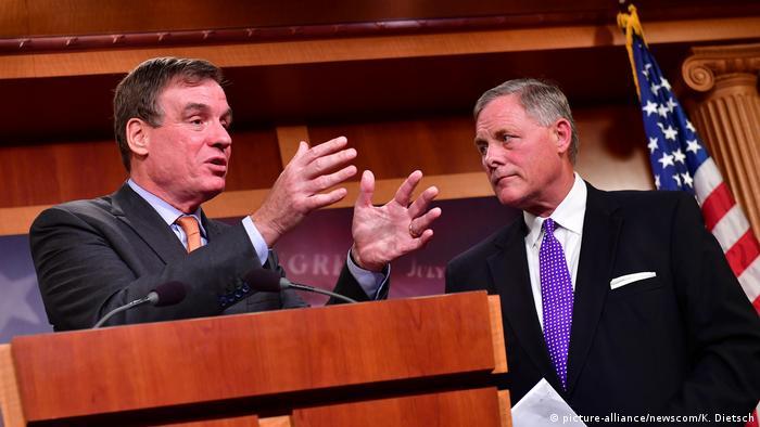 Justizausschuss des US-Senats Russland Affäre Burr Warner