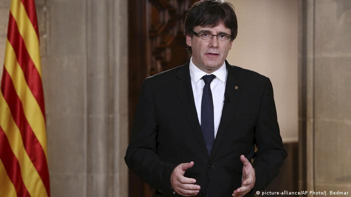 ESPAÑA: Justicia española suspende pleno del Parlamento catalán