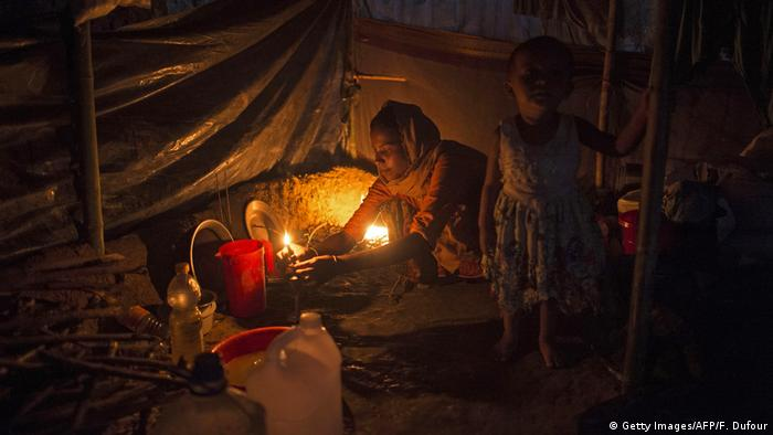 Bangladesch Rohingya Flüchtlings-Lager (Getty Images/AFP/F. Dufour)