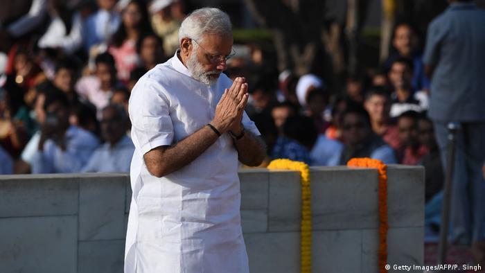 Indien Premierminister Narendra Modi