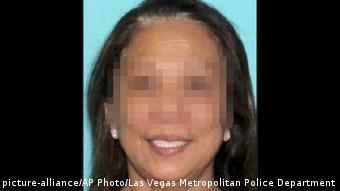Marilou Danley. Freundin des Las Vegas-Todesschützen (picture-alliance/AP Photo/Las Vegas Metropolitan Police Department)