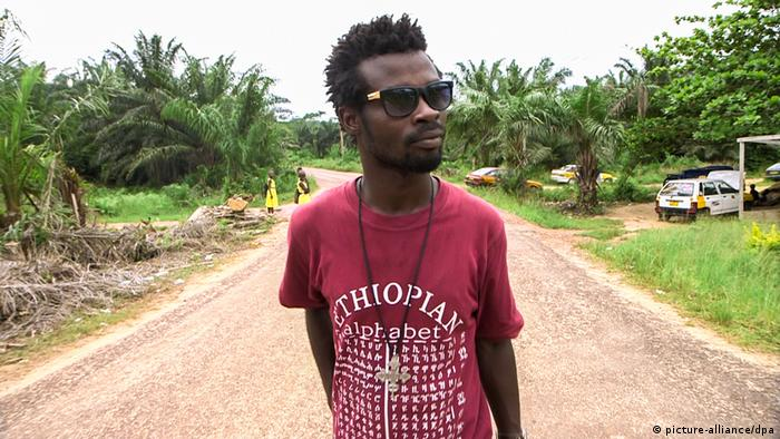 A still from the film Galamsey by Johannes Preuss