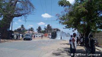 Mosambik, Protest in Nampula