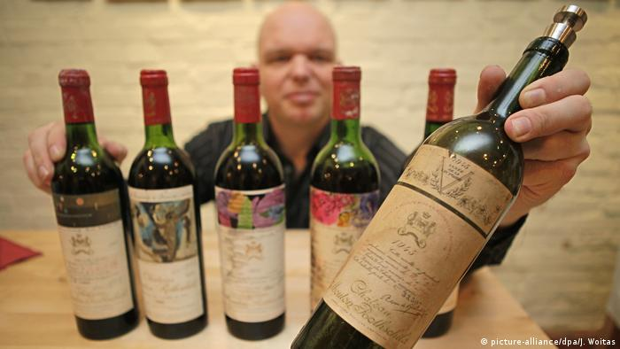 Mouton Rothschild wines (picture-alliance/dpa/J. Woitas)