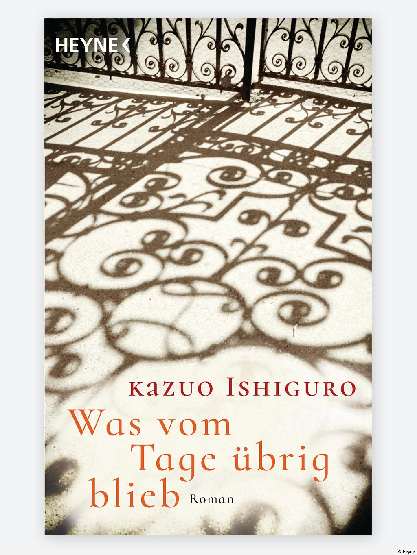 Cover von Was vom Tage übrig blieb, Roman von Kazuo Ishiguro