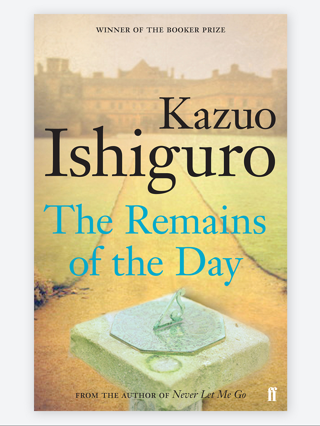 The remains of the Day, Novel by Kazuo Ishiguro