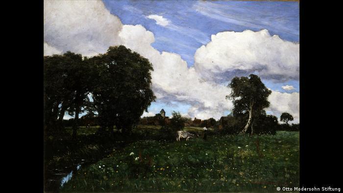 Отто Модерзон, Северный ландшафт, 1892