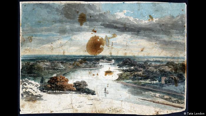 Вид на Темзу с Ричмонд-Хилл, 1794/95