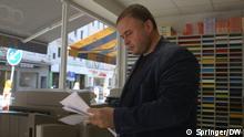 Titel: Dear Germany Jasur Mammadov Beschreibung: Portrait Jasur Mammadov Copyright: Springer/DW