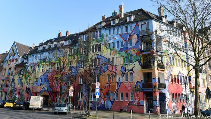 Deutschland Düsseldorf - Kiefernstrasse (picture alliance/dpa/H. Ossinger)