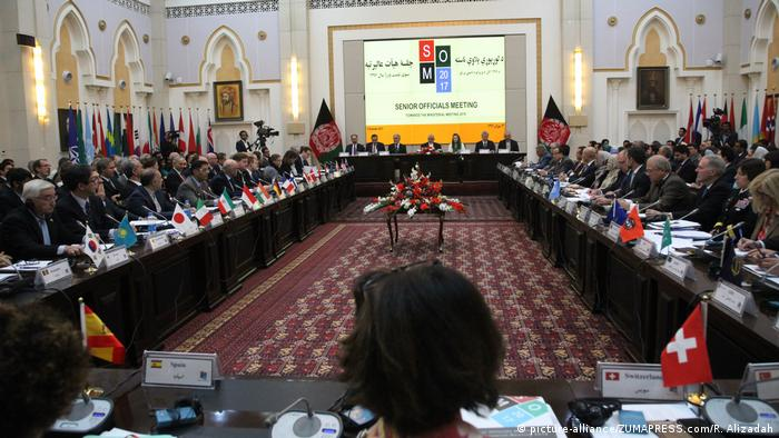 Afghanistan Senior Officials Meeting (SOM) (picture-alliance/ZUMAPRESS.com/R. Alizadah)