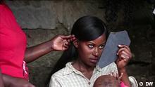 Reciclar cabelo no Quénia