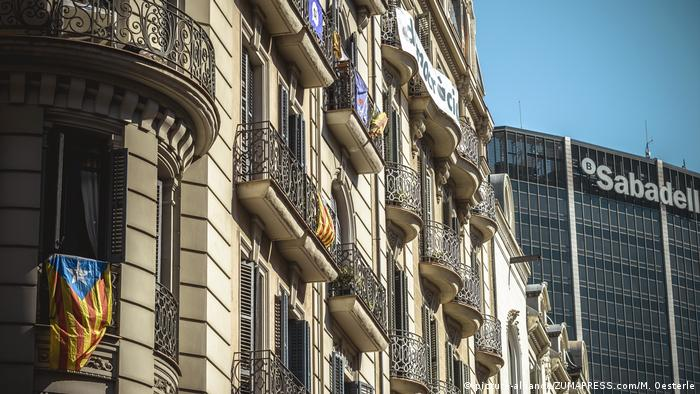Spain's Sabadell-Bank in Barcelona