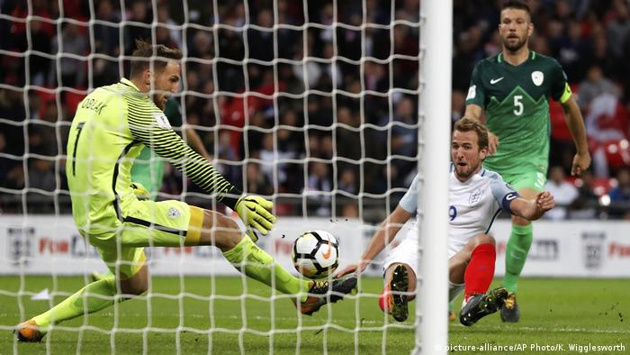 Soccer WCup 2018 England Slovenia (picture-alliance/AP Photo/K. Wigglesworth)
