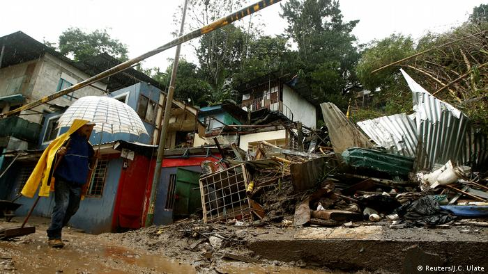 Буревій Нейт спричинив руйнування в Центральній Америці