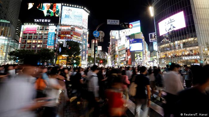 Japan Tokio Fußgänger Symbolbild Hektik (Reuters/T. Hanai)