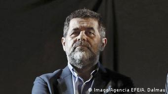 The former leader of the pro-independence movement Jordi Sanchez